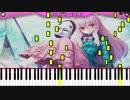 【東方ピアノ】亡失のエモーション  @大雑把に採譜した