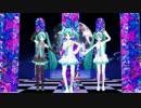 【初音ミク】らぶさんたちで「Hand in Hand (八王子P Remix)」【MMD】