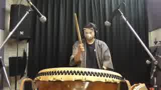 【和太鼓と篠笛で】FF7 コスモキャニオンBGM「星降る峡谷」【演奏してみたの】