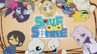 【Undertaleオリジナル曲】SAVE and SHAKE 【手描きMV】