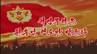 『NK-POP』革命武力は元帥様の領導だけを