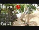 【ゆっくり】南国ハワイ一人旅 Part21 ラニカイビーチ