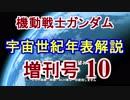 第5位:【機動戦士ガンダム】宇宙世紀年表解説 増刊号 【ゆっくり解説】part10 thumbnail