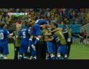 サッカー 2014 W杯   イングランド vs. イタリア ダイジェスト