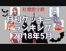 月刊クッキー☆ランキング2018年5月号