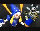 【メダ3カミキリver.】パテとヤスリと月面パンチ【実況+模型】#15