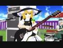 【東方MMD】千本桜 MMD-Band Edition/魔理沙と咲夜と妖夢がバンドを組んでみた