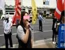 <神戸拉致被害者奪還デモ>紳士・淑女に吠えつく○○人をご覧ください。