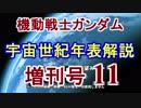 第6位:【機動戦士ガンダム】宇宙世紀年表解説 増刊号 【ゆっくり解説】part11 thumbnail