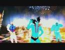 【MMD】BEYOND THE TIME ガンダムさん ザクさん デビルマンさんでダンス