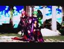 【MMD 4K】虎視眈々 Tda式改変 紫音美菜 重音テト GUMI Japanese Kimono