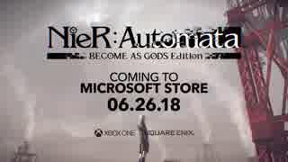 NieR:Automata BECOME AS GODS Edition E3 Trailer
