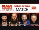 【WWE】ブラウン・ストローマンvsボビー・ルードvsフィン・ベイラーvsケビン・オーウェンス【RAW 6.11】