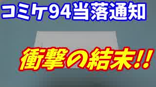 コミケ94衝撃の当落結果