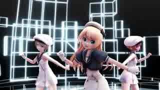 【MMD艦これ】ミニスカジャーヴィスとZ1・Z3にアンノウン・マザーグースを踊ってもらいました。【1080P】