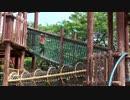 【滋賀県立びわ湖こどもの国】アスレチック遊具、ロープ遊具で遊ぶあい♥お出かけ 外遊び 大型遊具