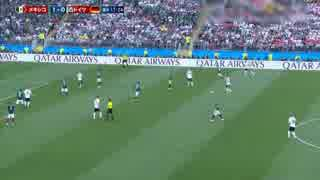【今大会ベストバウト】2018ソ連W杯 グループリーグ ドイツ 対 メキシコ