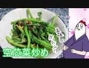 【NWTR料理研究所】空芯菜炒め(リベンジ)【Vtuber】