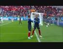 《2018W杯》 [グループC:第2節] フランス vs ペルー (2018年6月21日)