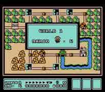 【FC版】スーパーマリオブラザーズ 3 - World 1 [MIDI]