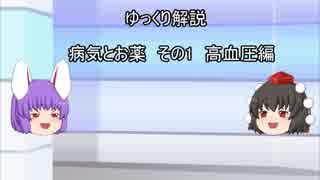【ゆっくり解説】 病気とお薬 その1 高血圧編