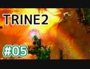 #05【TRINE2】謎解きとおじいちゃん介護の旅【はやしるk@】