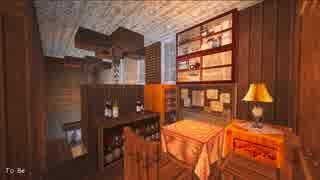 【Minecraft】緩やかに幻想建築Vol.2_古都港ラプシェイス_#2-3【女実況】