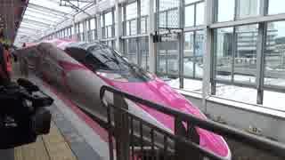 ハローキティ新幹線見てきた