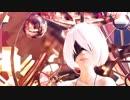 【MMD】 NieR:Automata 水着2Bちゃんで『Addiction』