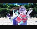 【UTAUカバー+MMD】スイートマジック【式大元】