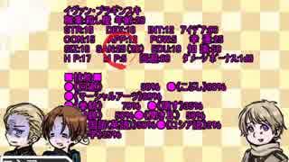【ゆっくりCoCリプレイ風】連合6がお花と、ブッチャーのおいしいレストラン【ヘタリア】1