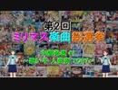【中間発表 #1】 第2回 ミリマス楽曲総選挙 【歌い手 人数別 TOP7】