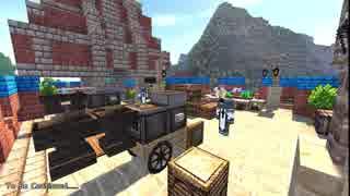 【Minecraft】緩やかに幻想建築Vol.2_古都港ラプシェイス_#2-4【女実況】