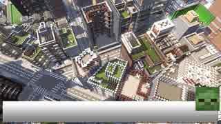【Minecraft】史上最大級の現代都市を作る Part39【ゆっくり実況】