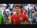 2018 ロシアW杯 準々決勝  イングランド × スウェーデン  ハイライト