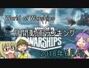 月間World of Warshipsランキング 2018年6月号