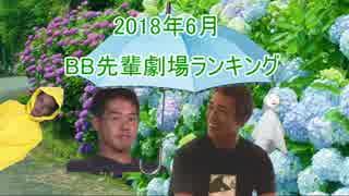 BB先輩劇場ランキング 2018年6月