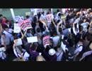 日本第一党のデモ、カウンターが多すぎて簡単に撃退されてしまう