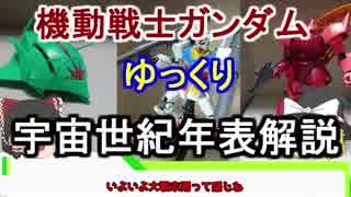 【機動戦士ガンダム】宇宙世紀年表解説 【ゆっくり解説】part14