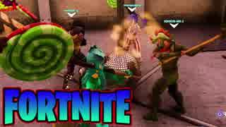 【フォートナイト】最強の強者は誰か!?4人チームで「FORTNITE Battle Royale」♯13