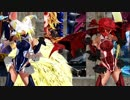 【東方MMD】改変八雲藍さんと改変レミリアさんでスイートマジック踊ってもらった【DANCE】