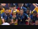 セレモニー 《2018W杯》 [決勝] フランス vs クロアチア (2018年7月15日)