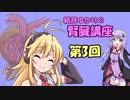 第46位:【結月ゆかり】結月ゆかりの腎臓講座 part3【弦巻マキ】 thumbnail