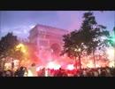 第5位:W杯優勝を喜び過ぎたフランスのパリで投石,放火,略奪,破壊の暴動に発展し機動隊と衝突w