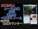 【MtG】ST走行会 レース会場:M19 搭乗者:無限型青赤ストーム VS緑黒カウンター【スタンダード】