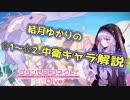 【プリコネR】結月ゆかりの☆1~☆2中衛キャラ解説【VOICEROID解説】
