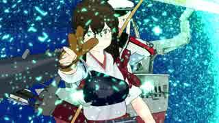 【MMD杯ZERO予告動画】世界に武力介入できる赤城【艦これ×スパロボ(ガンダム00)】