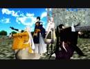 【MMD】刀剣乱舞 ソーラン節トリオ+鶴でロールプレイングゲーム