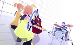 【MMD杯ZERO予告動画】Yellow-GYARIMIX-【MMD-BE】