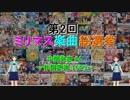【中間発表 #4】 第2回 ミリマス楽曲総選挙 【作詞家別 TOP3】